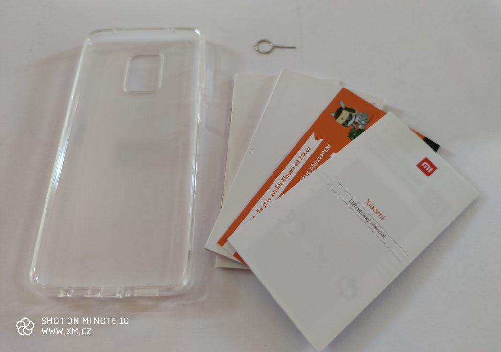 Obsah balení Redmi Note 9S