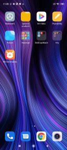 Předinstalované aplikace