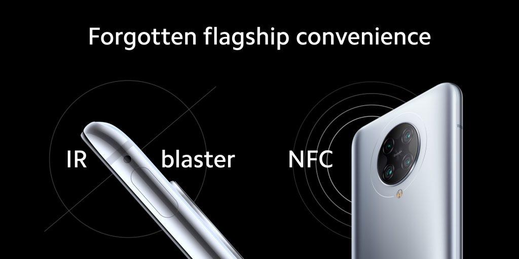 NFC a infračervený vysílač