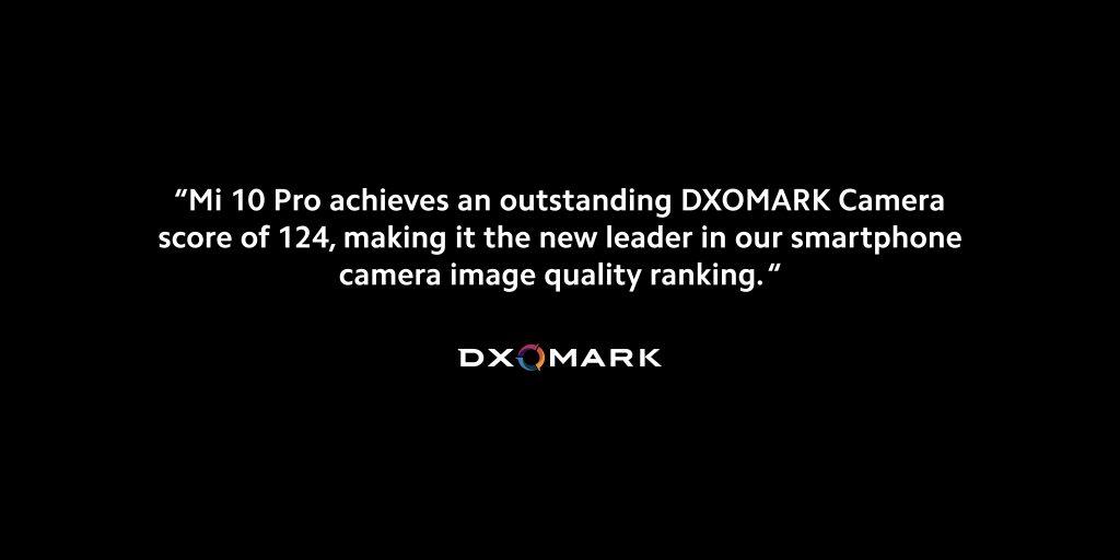 Recenze Xiaomi Mi 10 Pro dle DxOMarku
