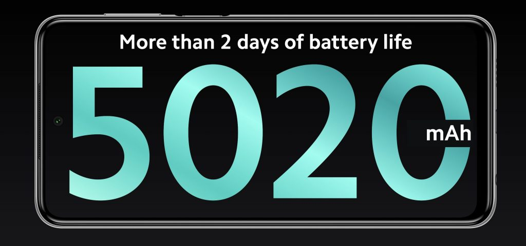 Všechny tři modely mají 5020mAh baterii