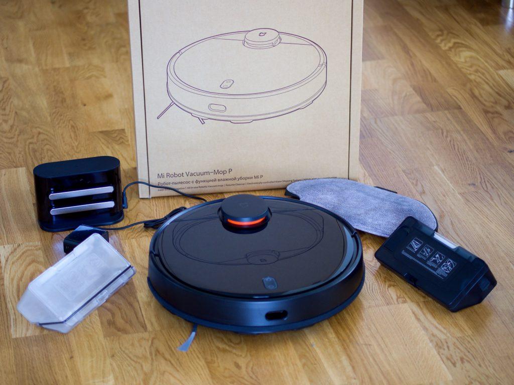 Xiaomi Mi Robot Vacuum Mop Pro obsah balení