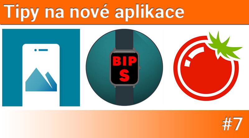 Tipy na nové aplikace #7: Rajče do kapsy, Amazfit Bip S Watchfaces a Bing Wallpapers