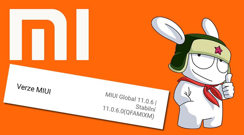 Víte, co znamenají písmena v označení verze MIUI?