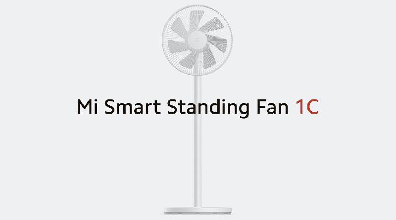 Xiaomi Mi Smart Standing Fan 1C: chytrý ventilátor s ovládáním z mobilu