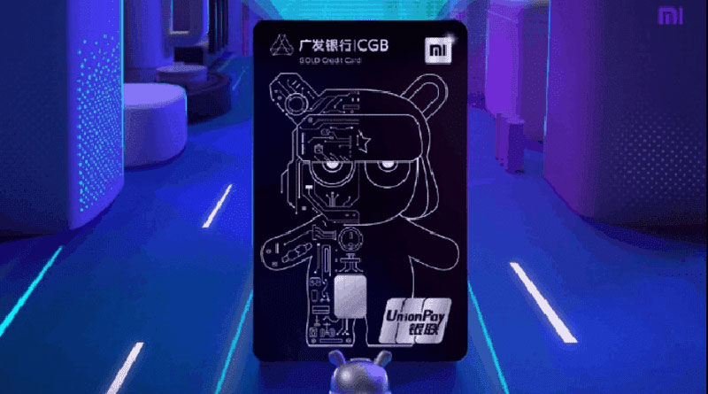 Xiaomi představilo kreditní kartu. Za používání bude rozdávat dárky