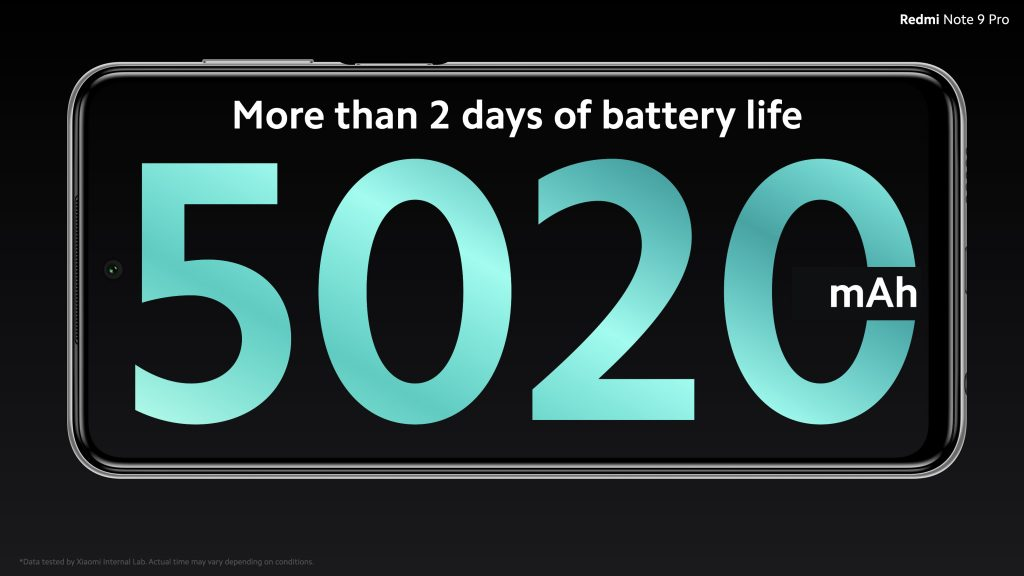 Baterie s kapacitou 5020 mAh
