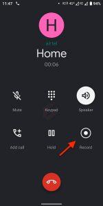 Nahrávání hovorů Xiaomi Mi A2