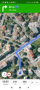 Navigace Mapy.cz