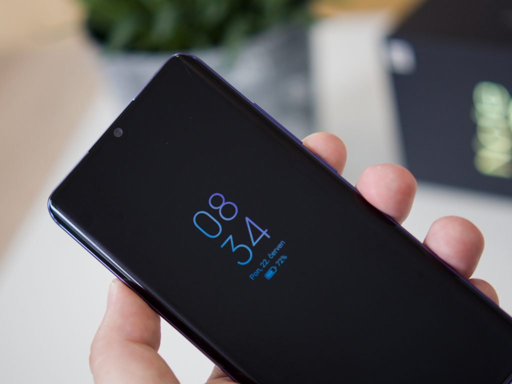 Xiaomi Mi Note 10 Lite AoD