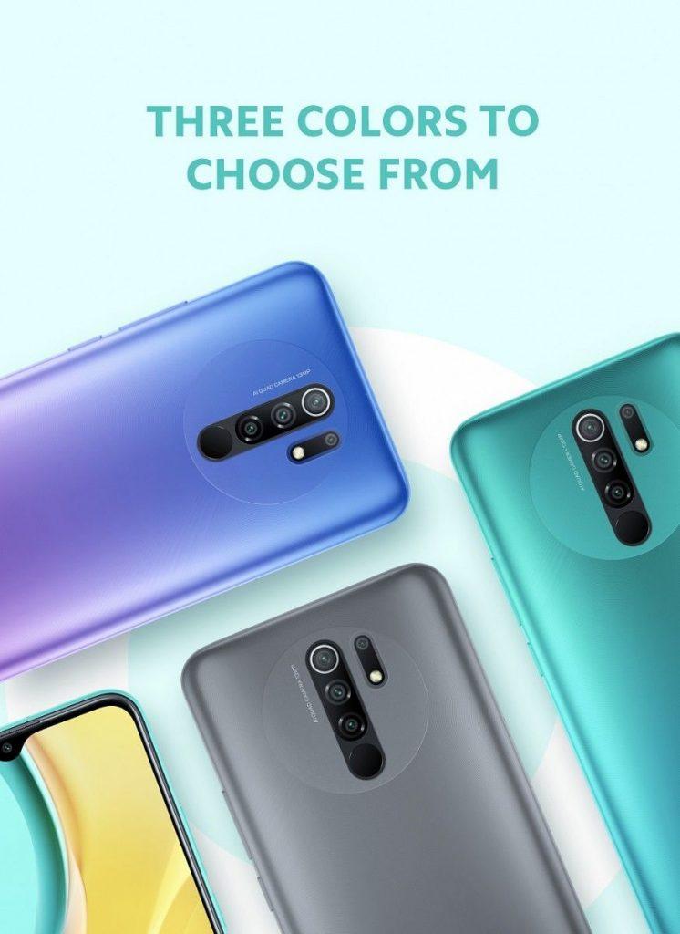 Tři barevné varianty