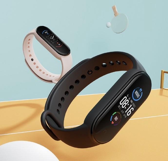 Chytrý fitnes náramek Xiaomi Mi Band 5