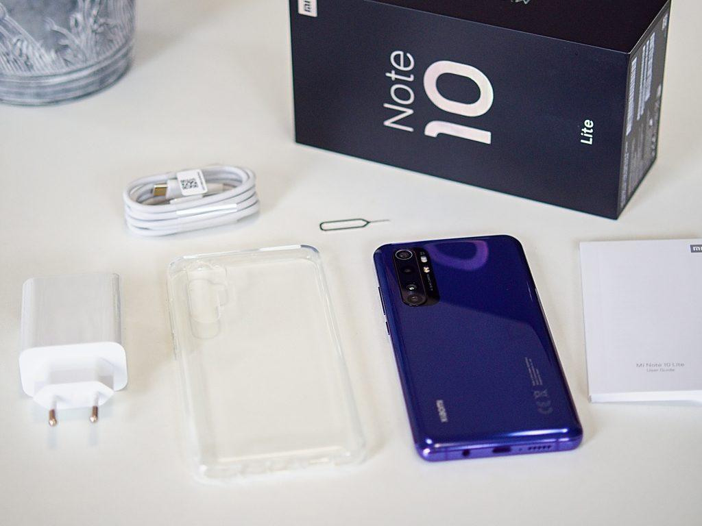 Xiaomi Mi Note 10 Lite balení