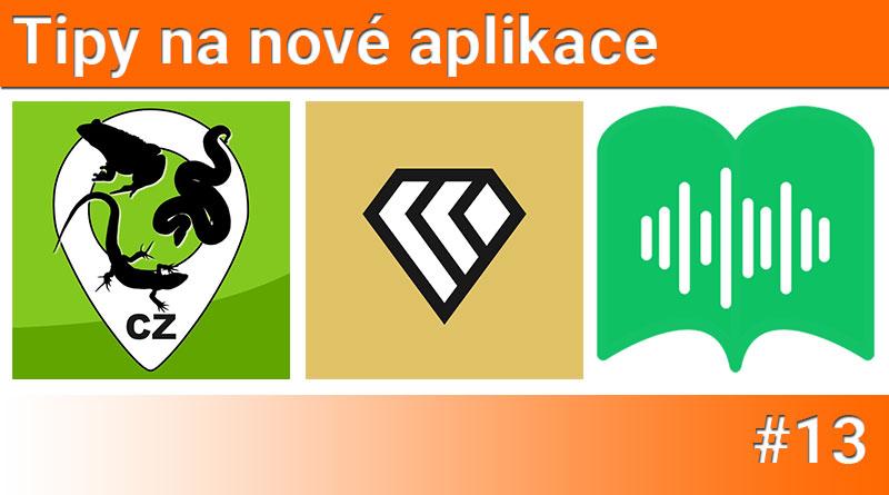 Tipy na nové aplikace #13: Google Keen, Readmio a Lovec obojživelníků a plazů CZ