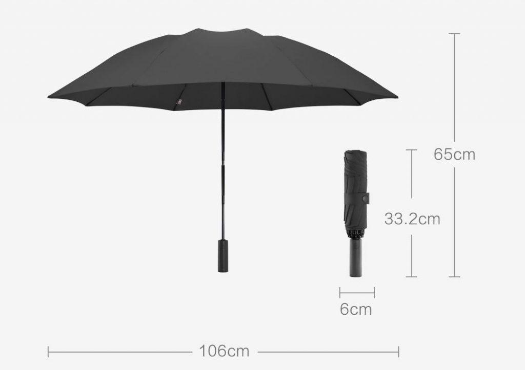 Deštník Xiaomi 90 Points Automatic Reverse Folding Umbrella