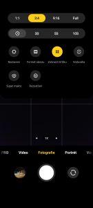 Xiaomi Poco F2 Pro fotoaparát