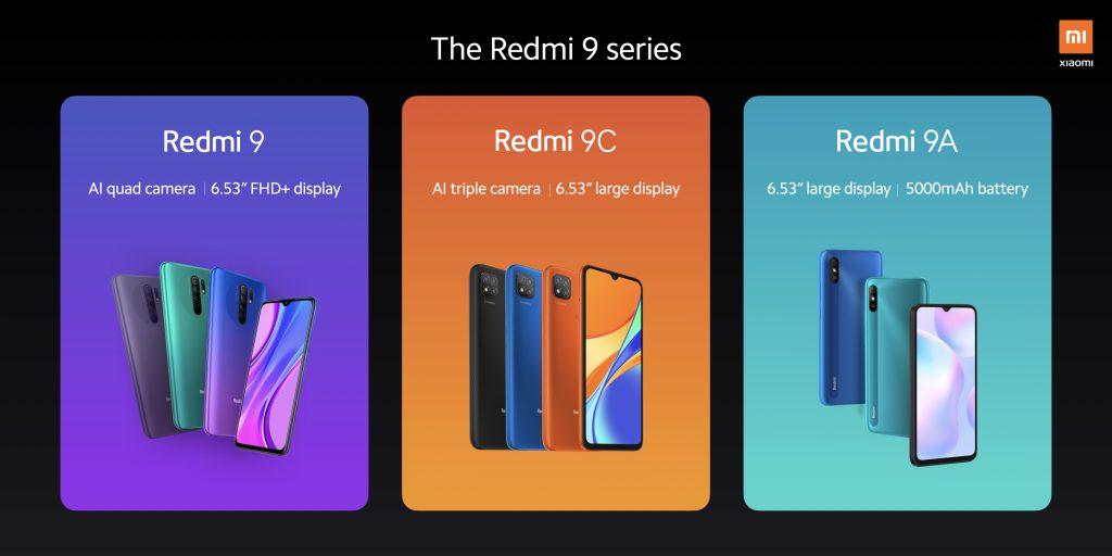 Modelová řada Redmi 9