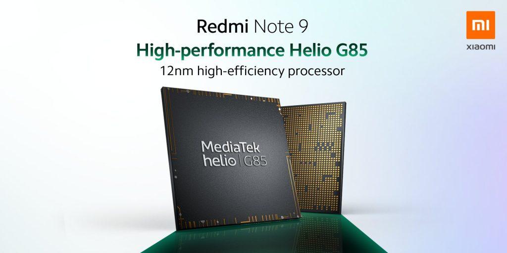 Osmijádrový MediaTek Helio G85 s maximální taktovací frekvencí až 2,0 GHz