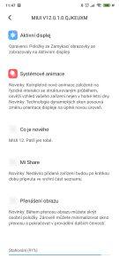 aktualizace Xiaomi Poco F2 Pro