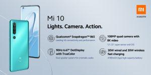Vlajková loď Xiaomi Mi 10