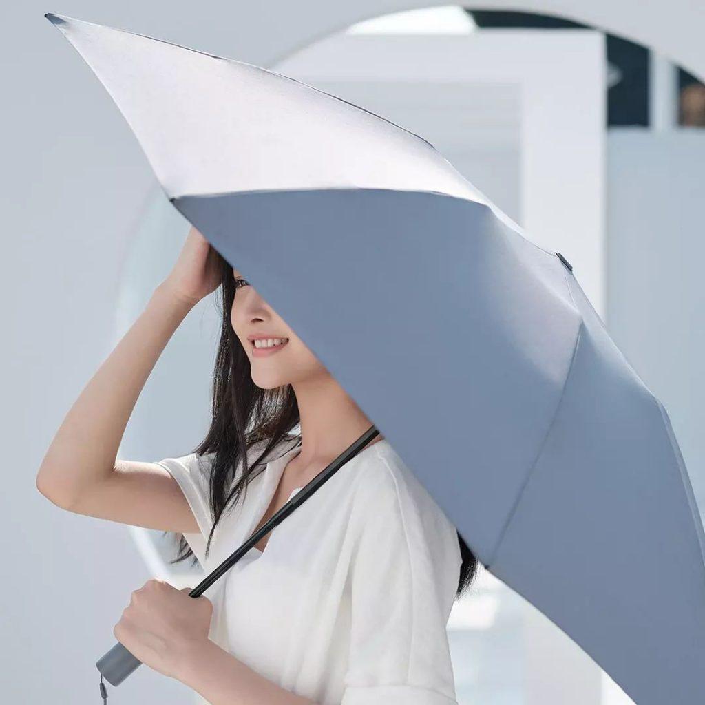 Xiaomi 90 Points Automatic Reverse Folding Umbrella - deštník