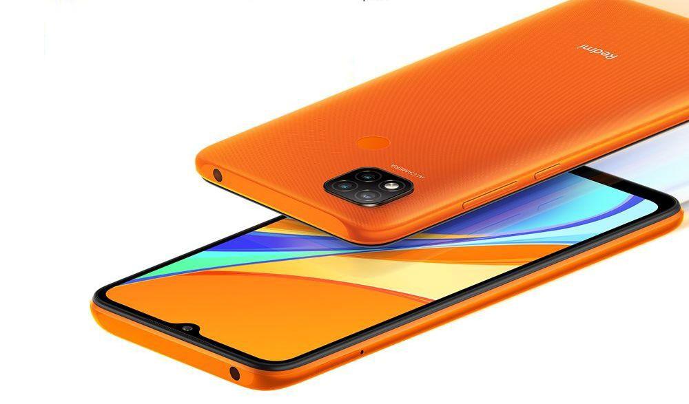 Redmi 9C - oranžová barva