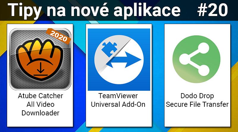 tipy-na-nove-aplikace-20-teamviewer-universal-atube-catcher-a-dodo-drop