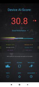 Poco X3 v benchmarku AI Benchmark