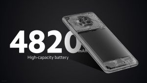 4820mAh baterie
