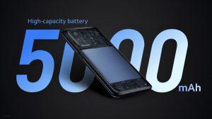 5000mAh baterie