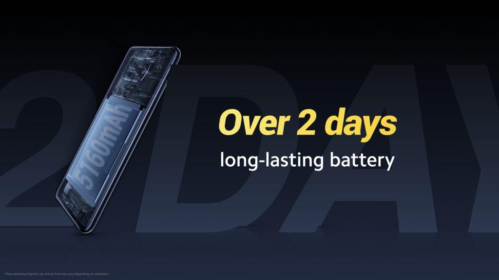 5160mAh baterie