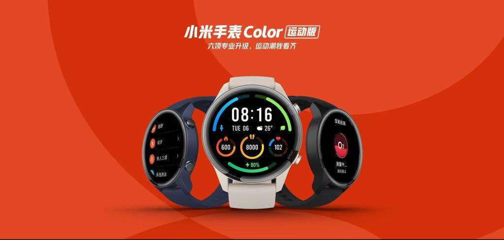 Chytré hodinky Xiaomi Mi Watch Color Sports Edition