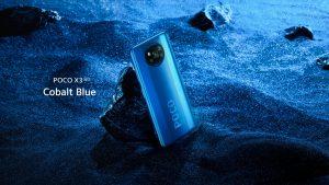 Poco X3 v modré barvě