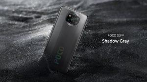 Poco X3 v šedé barvě