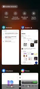 Seznam posledních spuštěných aplikací