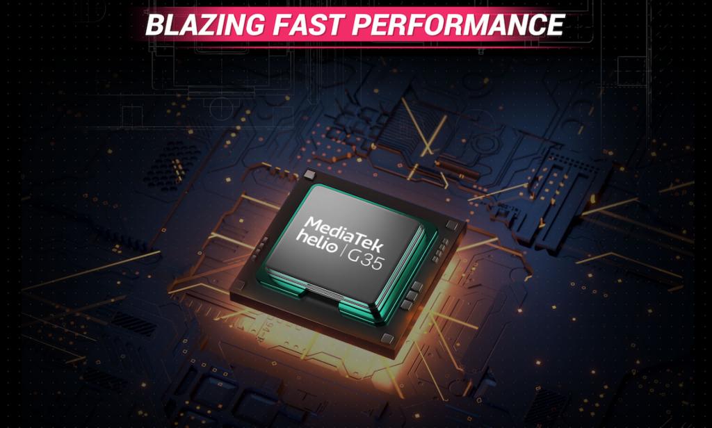 Srdcem nového telefonu Poco je osmijádrový procesor MediaTek Helio G35
