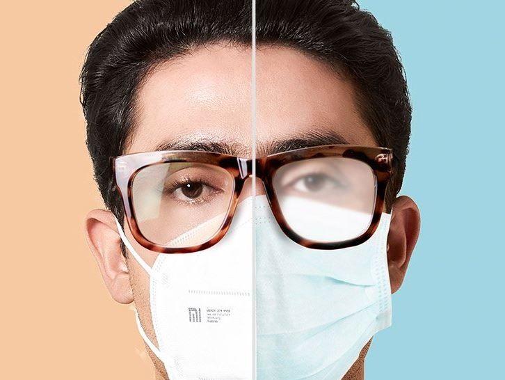 Systém proti zamlžování brýlí