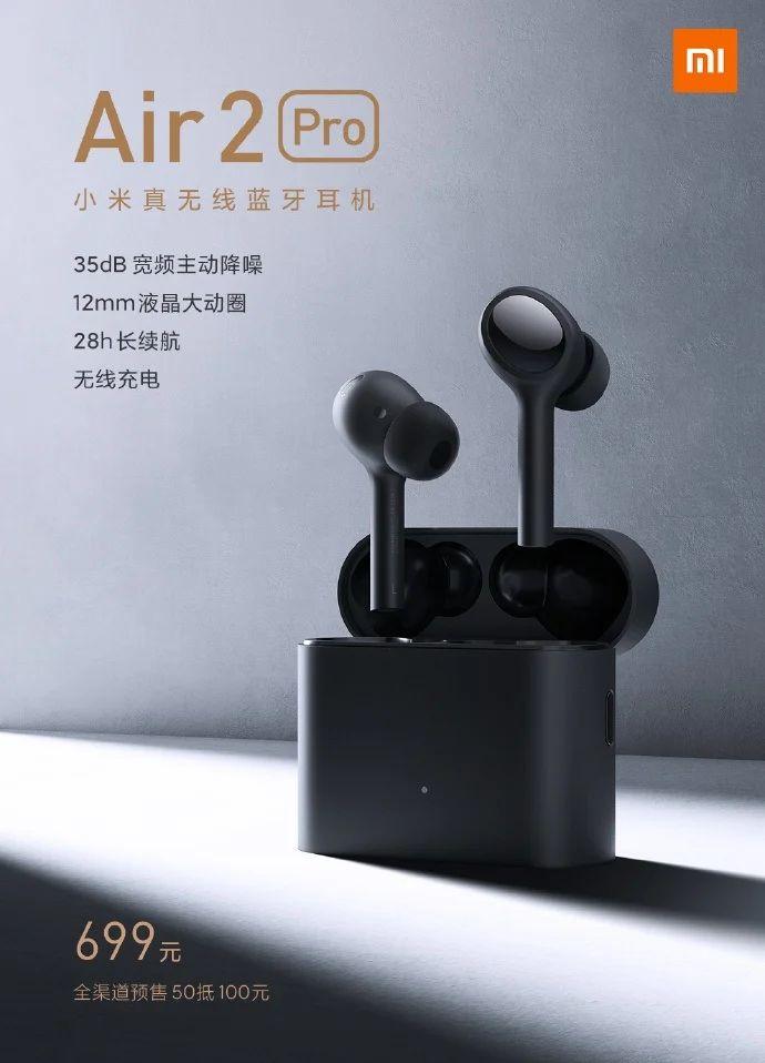 Xiaomi Mi Air 2 Pro - bezdrátová sluchátka