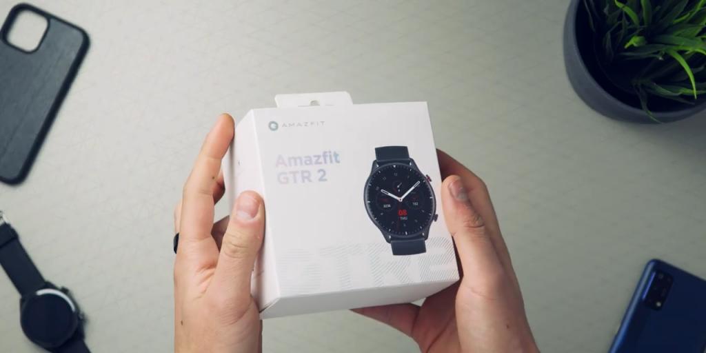 Hodinky Xiaomi Amazfit GTR 2 se prodávají v bílé krabičce