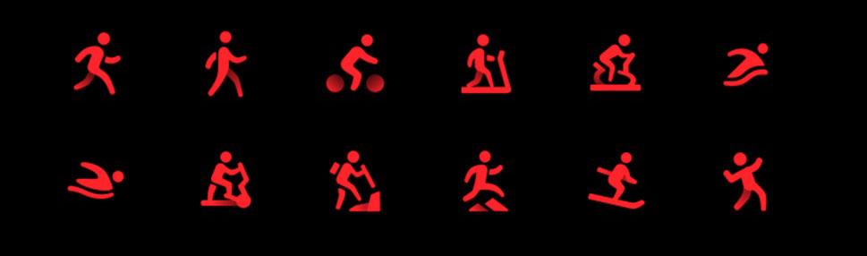 Hodinky podporují dvanáct typů aktivit