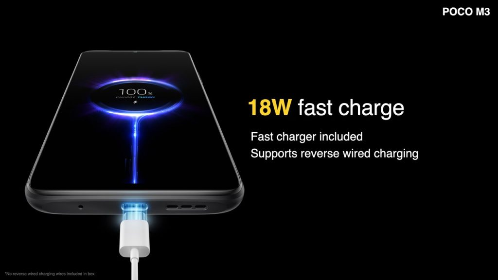 Rychlé nabíjení výkonem 18 wattů