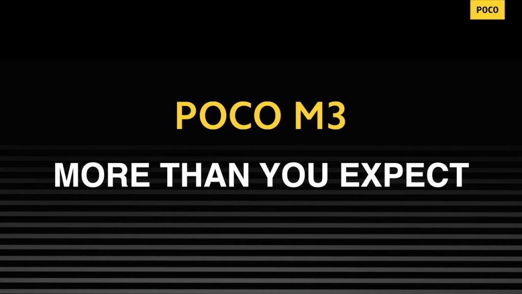 Telefon Poco M3: Víc, než čekáte