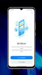 Přesun do nového zařízení (Mi Mover)
