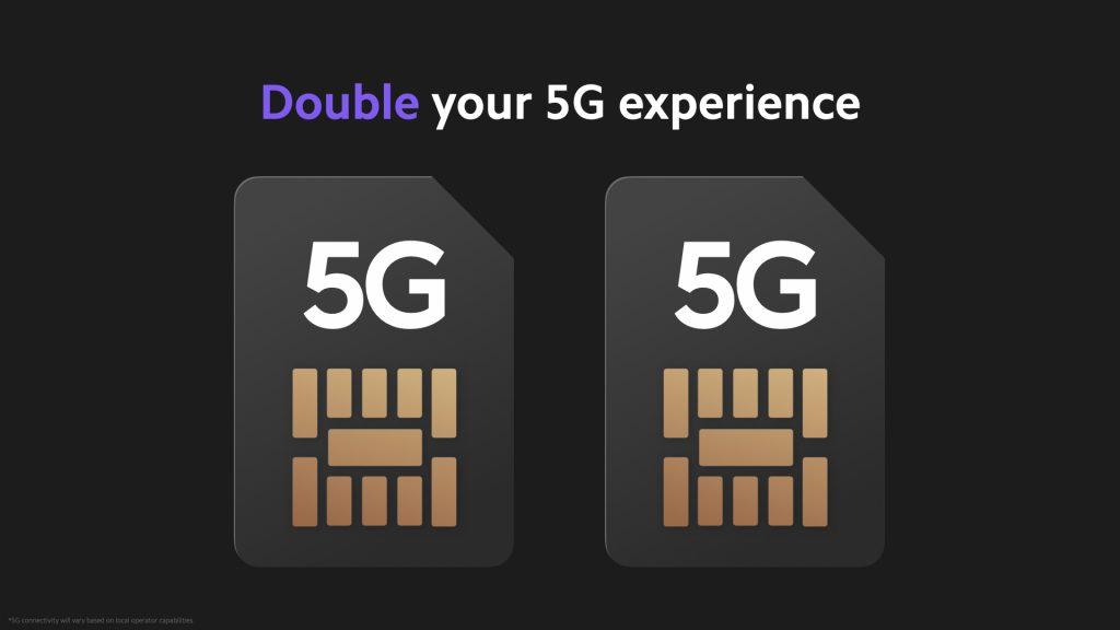 5G na obou SIMkách