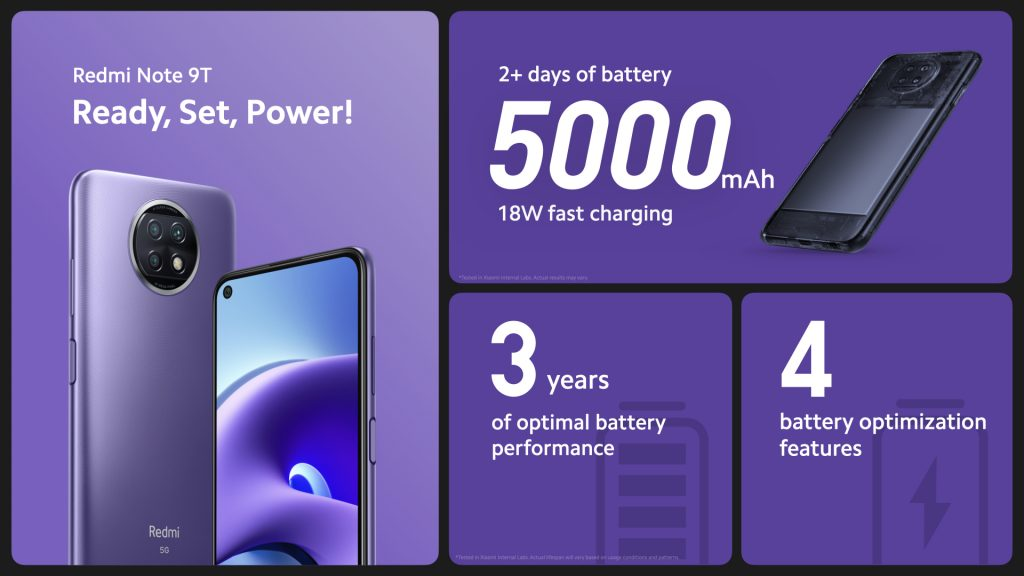 Baterie s kapacitou 5000 mAh