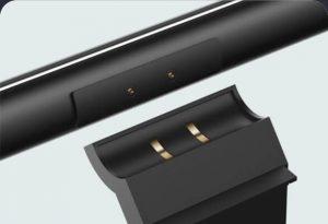 Lampička se pomocí držáku velice snadno připevní k horní hraně počítačového monitoru