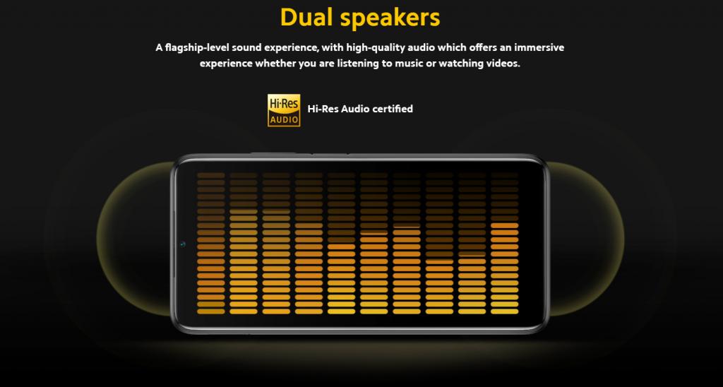 Poco M3 má dva hlasité reproduktory