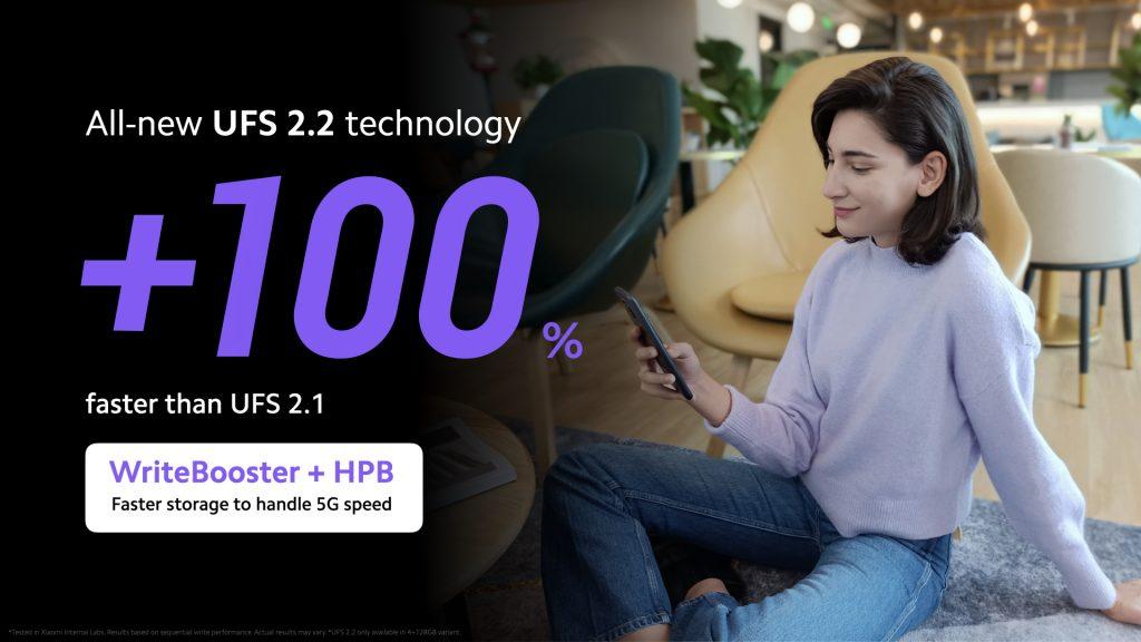 Technologie UFS 2.2