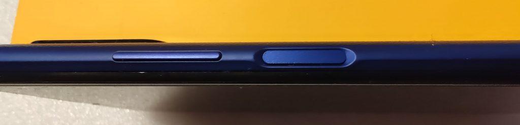 Tlačítko pro zapnutí s integrovanou čtečkou