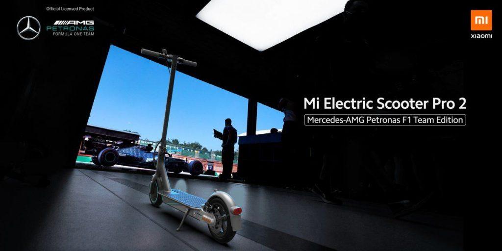 Xiaomi Mi Electric Scooter Pro 2 Mercedes-AMG Petronas F1 Team Edition - elektrická koloběžka